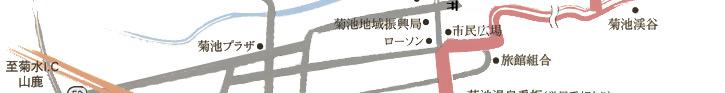 菊水インターからの地図