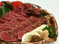 馬肉のたたき料理